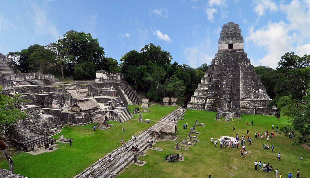 Maya city of Tikal